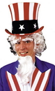Morris Costumes CB-50 Uncle Sam Wig Goatee Eyebrow G