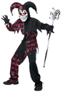 California Costumes CC-00466MD Sinister Jester Child Md