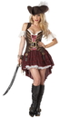 California Costumes CC-01164MD Swashbuckler Women Med 8-10