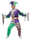 California Costumes CC-01400LG Mardi Gras Jester Adult Lg