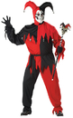 California Costumes CC-01613P Jester Evil Men Plus