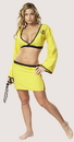 Cinema Secrets 432XS Naughty Ninja Yellow X Small