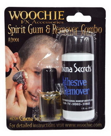 Cinema Secrets AD001C Spirit Gum With Remover Carded