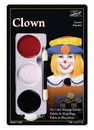 Morris Costumes DD-153 Tri Color Palette Clown