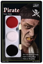 Morris Costumes DD-445 Tri Color Palette Pirate