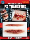 Morris Costumes DF-X506 3D Fx Med Cut Throat
