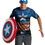 Disguise 11633D Captain America Alt 42-46