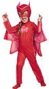 Morris Costumes DG-17156M Pj Owlette Classic Toddlr 3-4T