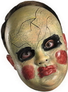 Disguise 23930 Smeary Doll Face Mask