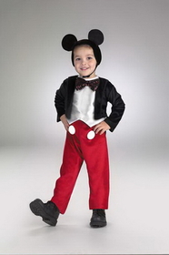 Disguise 5027M Mickey Mouse Deluxe 3T To 4T