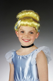 Disguise 9015 Cinderella Wig Child