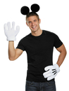Disguise DG-95776 Mickey Mouse Ears Gloves Adult