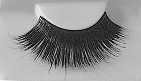 Morris Costumes EA-81 Eyelashes Blk With Adhv 199