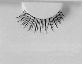 Morris Costumes EA-84 Eyelashes Black 503