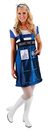 Morris Costumes EL-404820 Doctor Who Tardis Dress Sm Md