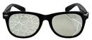 Elope Lingerie S27601 Glasses Broken Blk/Clr