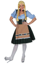 Funny Fashions FF-501093SM Salzberg Dress W Shirt Adult S
