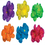 Funny Fashions FF-597006 Neon Hair Clips Assorted