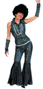 Funny Fashions 749888 Boogie Queen Adult Small