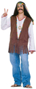 Forum Novelties FM-61664 Faux Suede Hippie Vest Costume