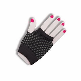 Forum Novelties 63022 Gloves Fingerles Fishnt Black