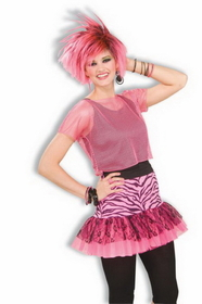 Forum Novelties 63078 Pop Party Skirt Pink