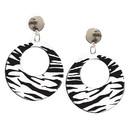 Forum Novelties 63172 Earrings Zebra White