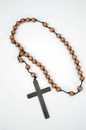 Forum Novelties 63945 Monk Cross W Wooden Beads