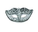Forum Novelties 65633 Venetian Mask Snow Leopard