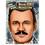 Forum Novelties FM-65746 Moustache Hollywood Vintage