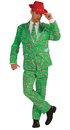 Morris Costumes FM-72641 Candy Cane Suit Adult Std