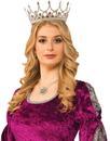 Forum Novelties FM-76047 Royal Queen Crown Silver
