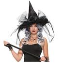 Forum Novelties FM-76625 Witch Hat Fancy Deluxe