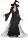 Morris Costumes FM-76785 Black Mist Witch Adult M/L