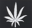 Morris Costumes FP-169 Stencil Weed Plant Brass