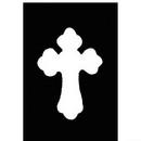 Morris Costumes FP-182 Stencil Cross Brass