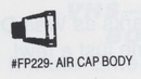 Morris Costumes FP-229 Air Cap Body 617