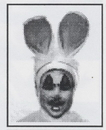 Morris Costumes FP-261 Stencil Kit Bunny