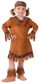 Funworld 111021TS American Indian Girl Tod 24M
