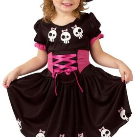 Funworld 115001T Skull Witch Toddler 3T-4T