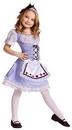 Funworld 122082SM Alice Child Costume 4-6