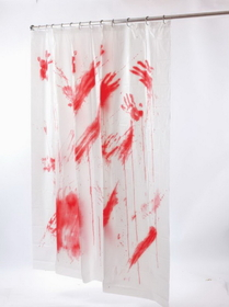 Funworld 91031 Bloody Shower Curtain