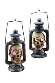 Funworld 91041 Skull Lantern Light Up