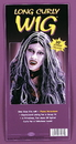 Funworld 9231BW Wig 30In Curly Vamp Blk Wht