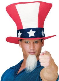 Funworld 93401 Uncle Sam Hat W Beard