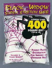 Funworld 9534 Spider Web 120 Gr White