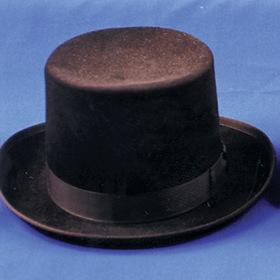 Morris Costumes GA-04BNXL Top Hat Felt Qual Brown Xlg