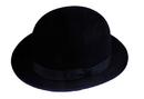 Morris Costumes GA-05BKLG Derby Felt Qual Black Lrg