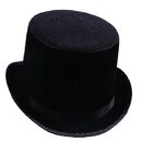 Morris Costumes GA-101LG Top Hat Black Felt Large