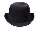 Morris Costumes GA-102MD Derby Hat Black Felt Medium